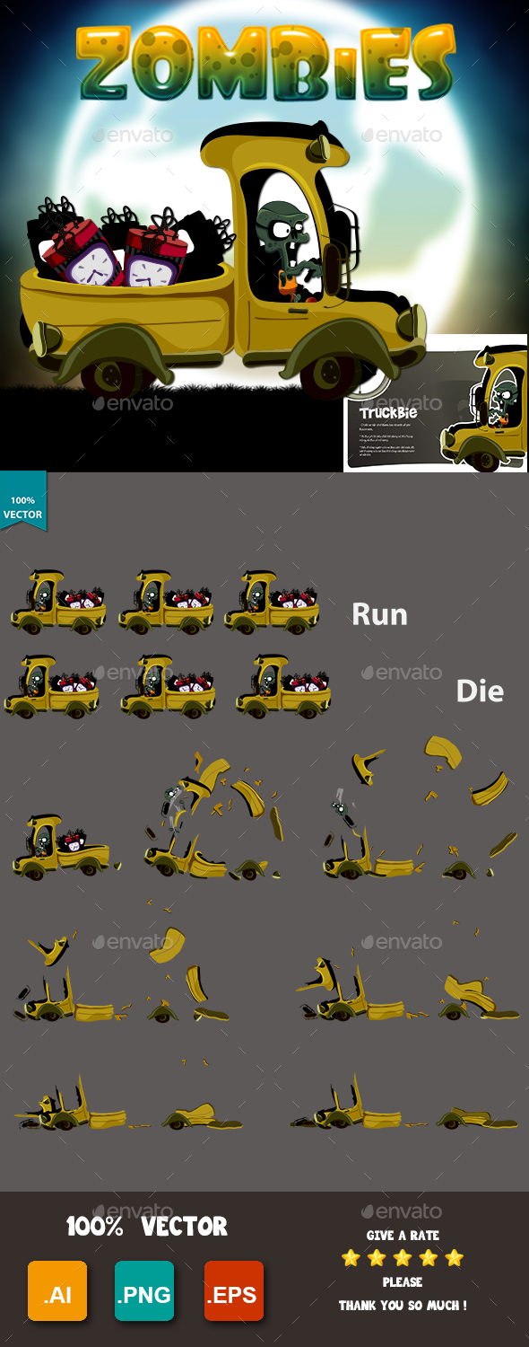 GraphicRiver Zombies Truckbies 20542222