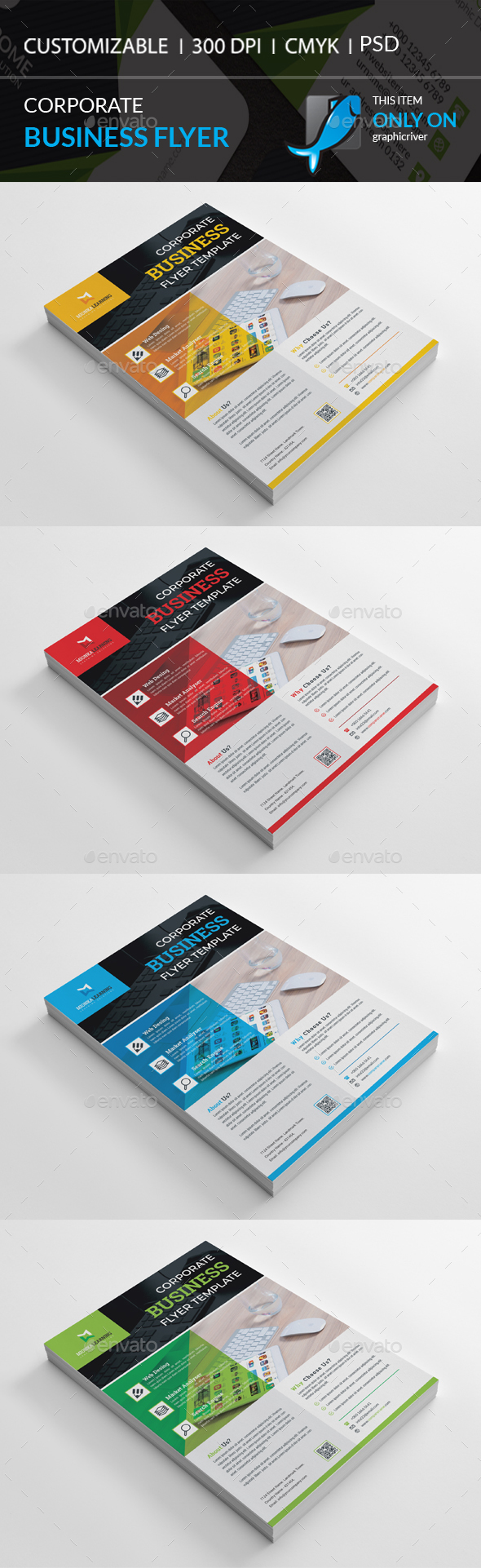 GraphicRiver Corporate Flyer 20542224