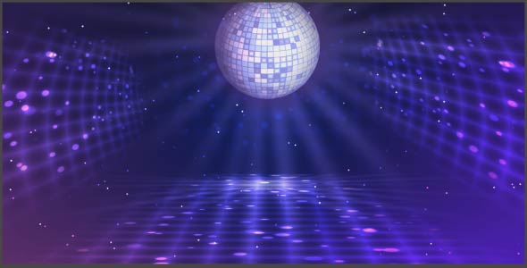 disco ball background by thehivestudio videohive. Black Bedroom Furniture Sets. Home Design Ideas