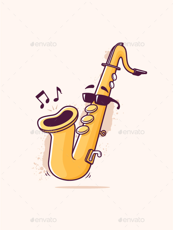Smooth Jazz - Objects Vectors