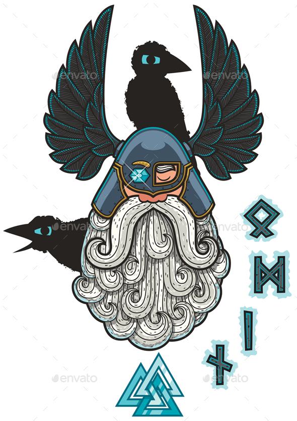Odin - Characters Vectors