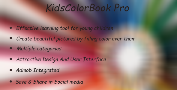 Kids Color Book Pro - IOS by Hideainfosys | CodeCanyon
