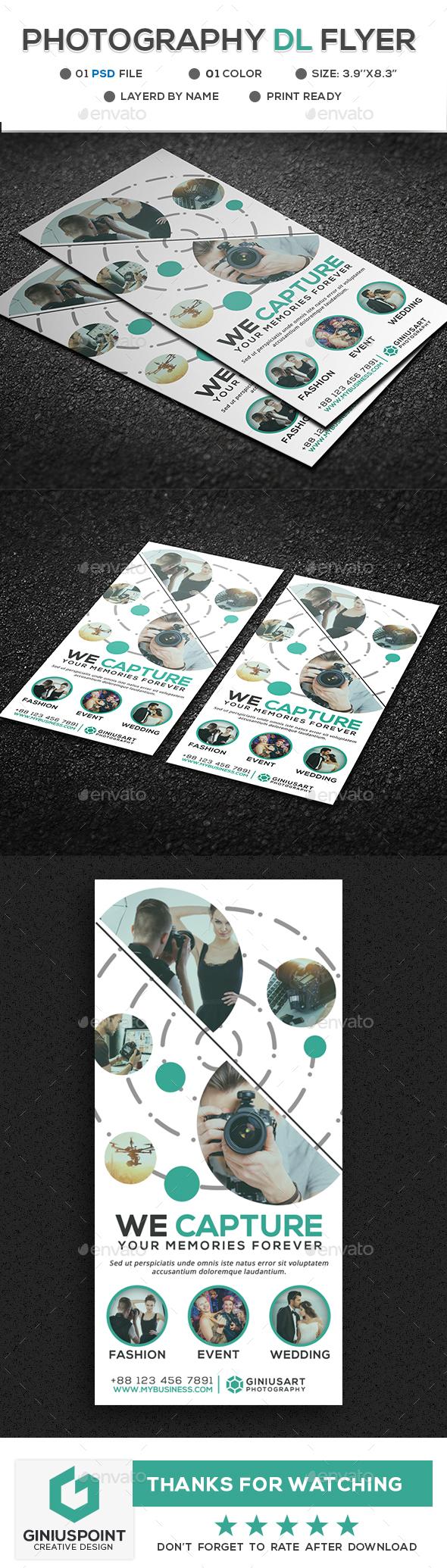 Photography DL-Flyer - Flyers Print Templates
