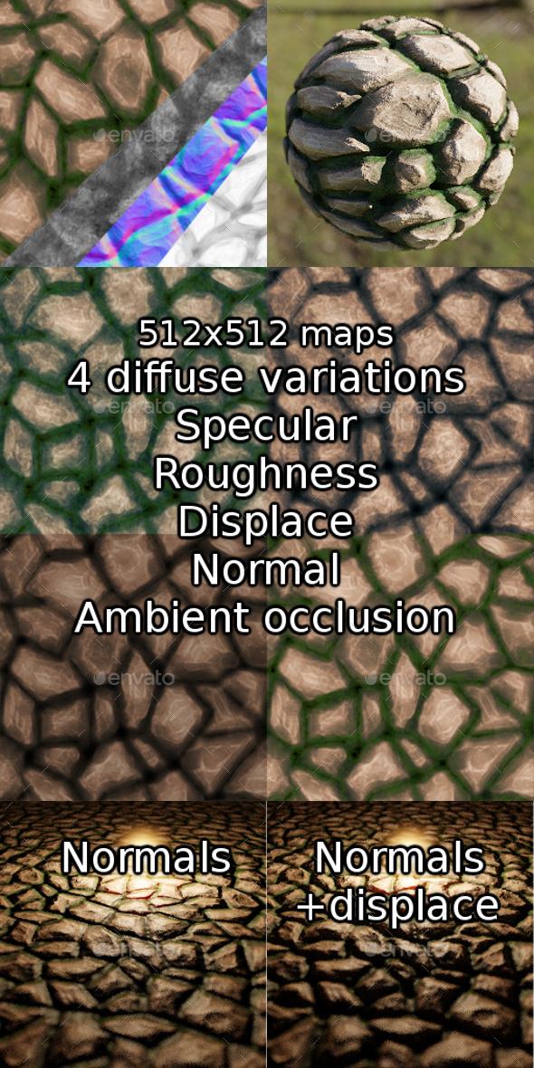 3DOcean Rock texture 20543092