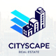 Cityscape - City, Real Estate, Building Property, Creative Logo Template - GraphicRiver Item for Sale