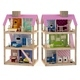 Wooden House for dolls Toy house 3
