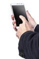 Smartphone In Hands - PhotoDune Item for Sale