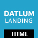 Datlum - Multipurpose Landing Page - ThemeForest Item for Sale