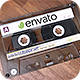 Retro Audio Cassette Tape - VideoHive Item for Sale
