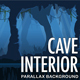 2D Cave Interior - Cartoony Parallax Background - GraphicRiver Item for Sale