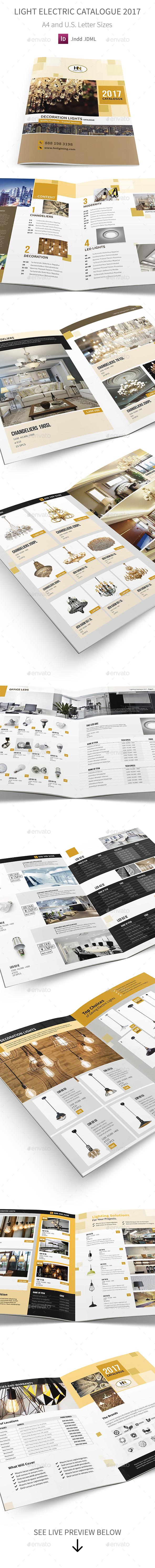 GraphicRiver Light Electric Catalogue 2017 20544907