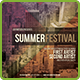 Summer Festival Flyer / Poster - GraphicRiver Item for Sale