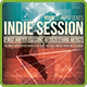 Indie Session Flyer Template - GraphicRiver Item for Sale