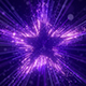 Purple Star Particles Background - VideoHive Item for Sale