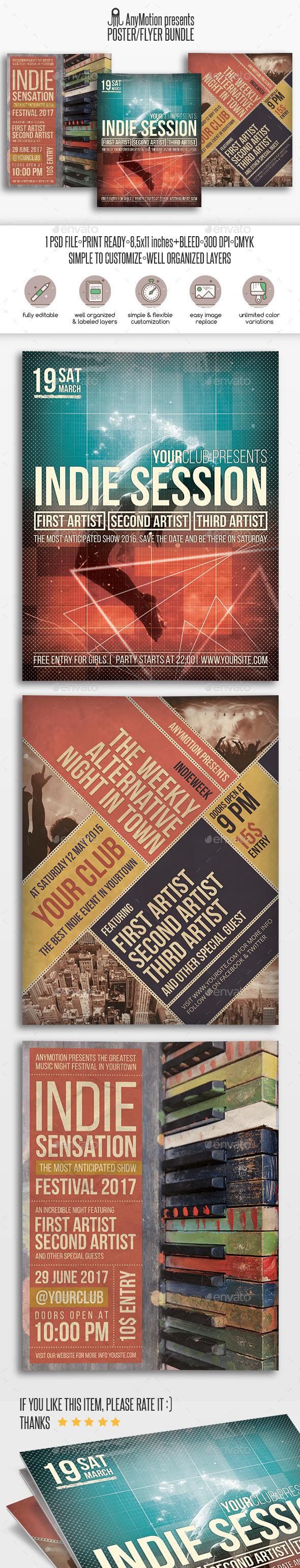 Flyer Bundle Vol.2 - Clubs & Parties Events