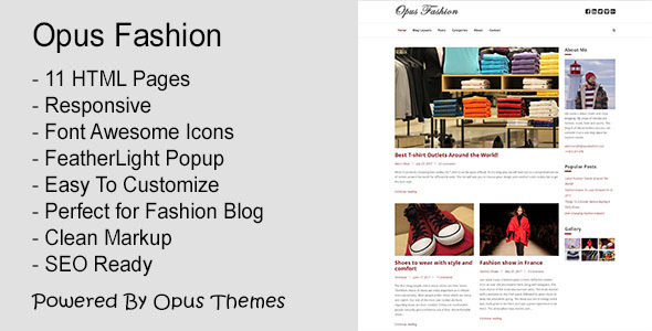Image of Opus Fashion - General Purpose Blog