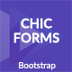 Chic - Bootstrap Forms