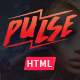 Pulse - Creative One Page HTML Template - ThemeForest Item for Sale