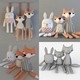 Toys Fox rabbit textile toy