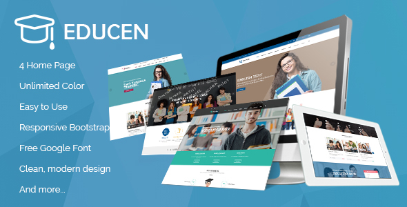 Educen - Education WordPress Theme - Education WordPress