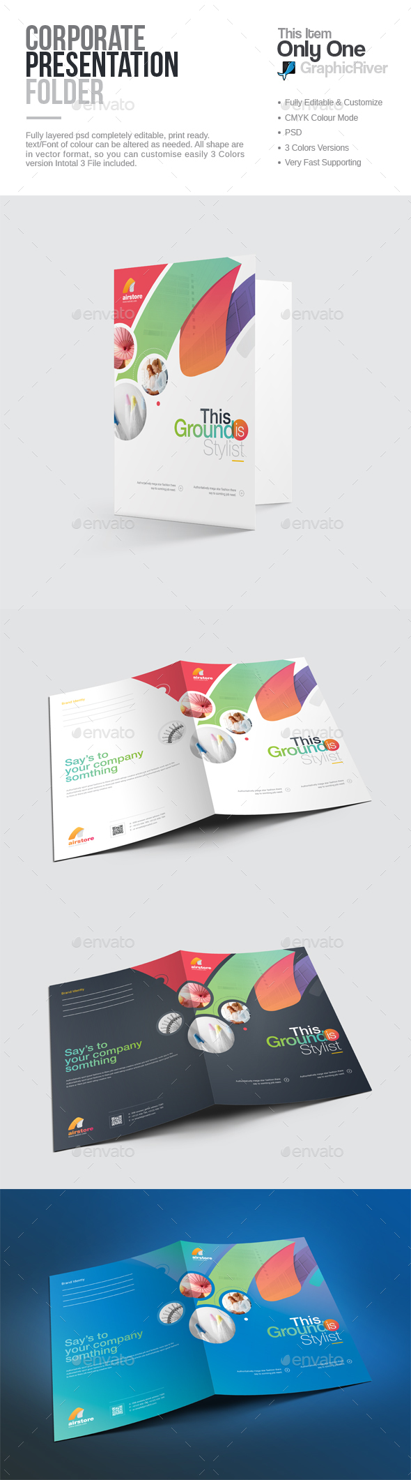 GraphicRiver Presentation Folder 20545527