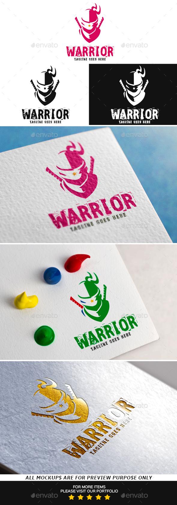 Warrior Logo Template