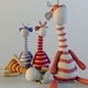 Textile giraffes toys - 3DOcean Item for Sale