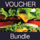 Food Gift Voucher Bundle - GraphicRiver Item for Sale
