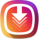 Premium Instagram Downloader- Save, Repost (Material Design+Native Ads+Banner+Interstitial)