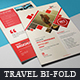 Bi-Fold Travel Brochure - GraphicRiver Item for Sale