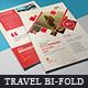 Bi-Fold Travel Brochure