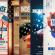American Day Flyer Template Bundle - GraphicRiver Item for Sale