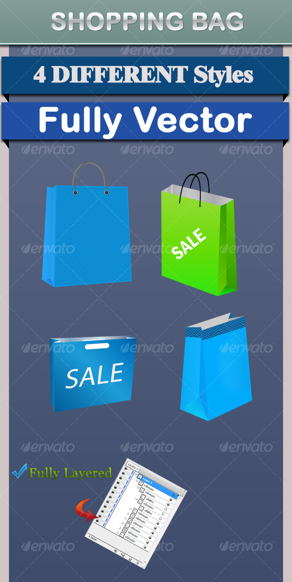 Shopping - Characters Vectors