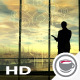 Deterioration Of The Environment, The Silhouette Of Man In The Office - VideoHive Item for Sale