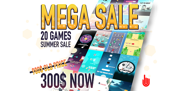 MEGA SALE 20 GAMES - CodeCanyon Item for Sale