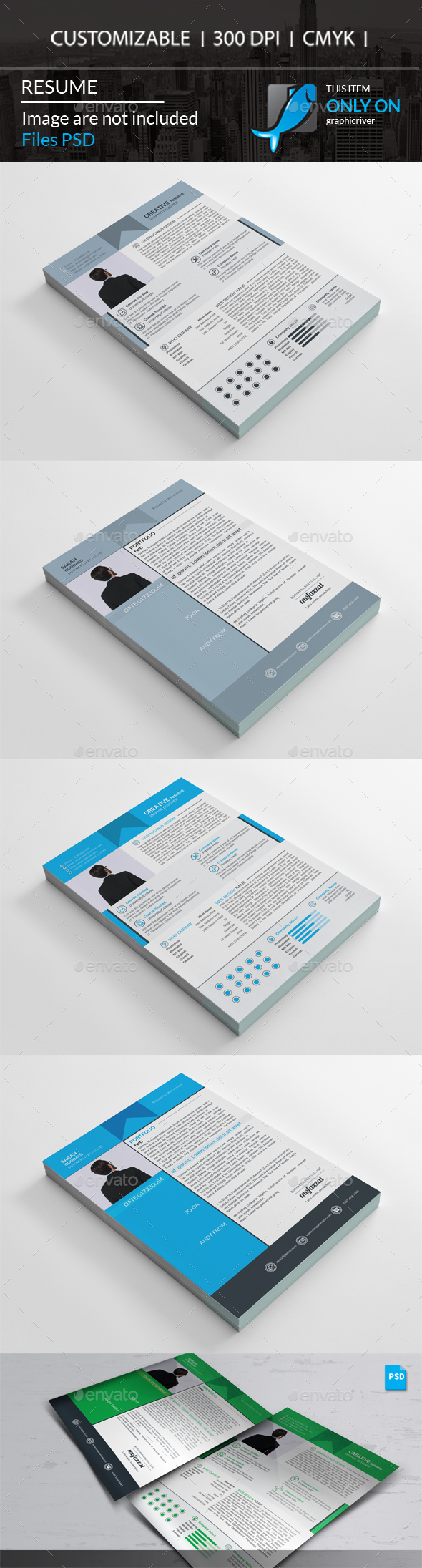 GraphicRiver Resume 20547326