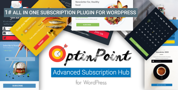 OptinPoint | All in One Subscription Plugin for WordPress - CodeCanyon Item for Sale