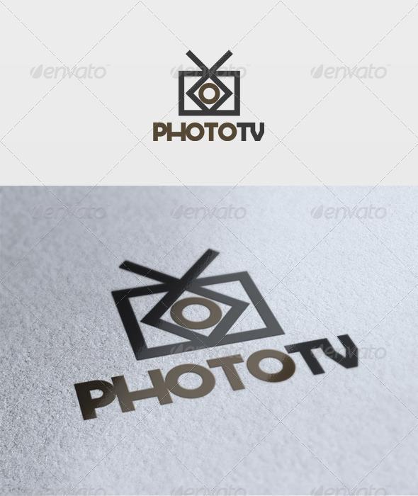 Photo Tv Logo - Objects Logo Templates