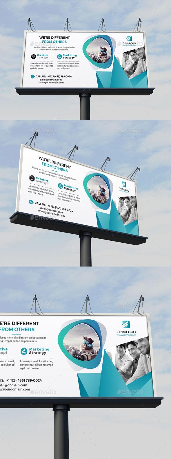 Billboard Template - Corporate Brochures