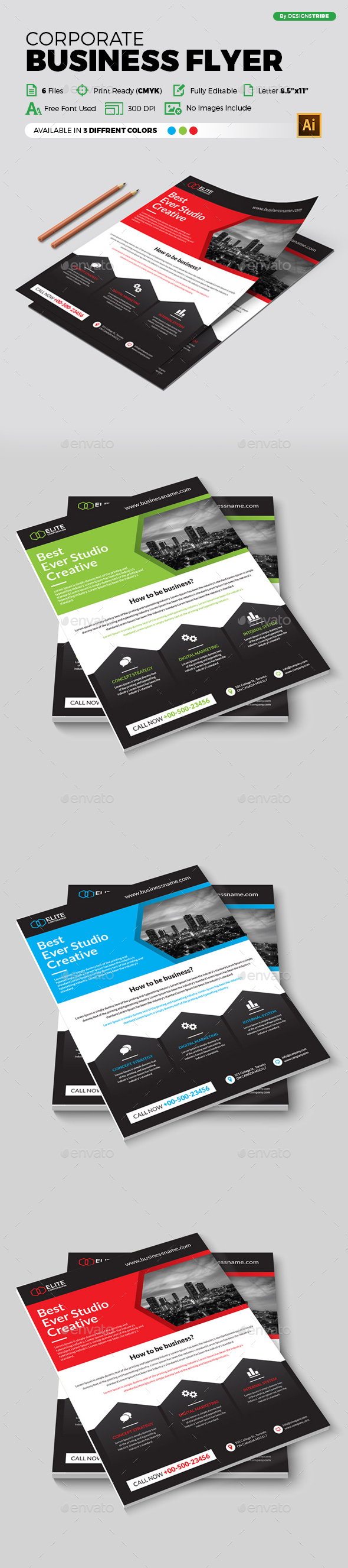 Flyer – Multipurpose 335 - Corporate Flyers