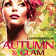 Fall in Glam Flyer Template V6 - GraphicRiver Item for Sale