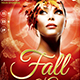 Fall in Glam Flyer Template V7 - GraphicRiver Item for Sale
