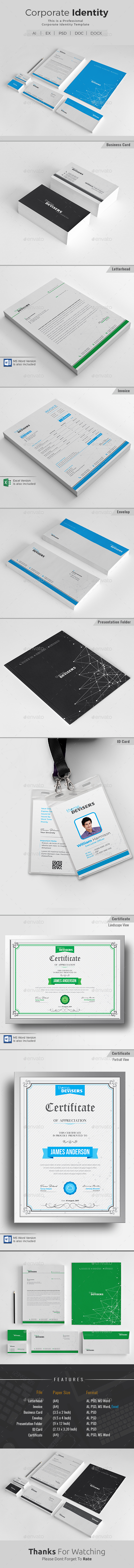 GraphicRiver Corporate Identity 20547744