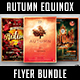 Autumn Equinox Flyer Bundle - GraphicRiver Item for Sale