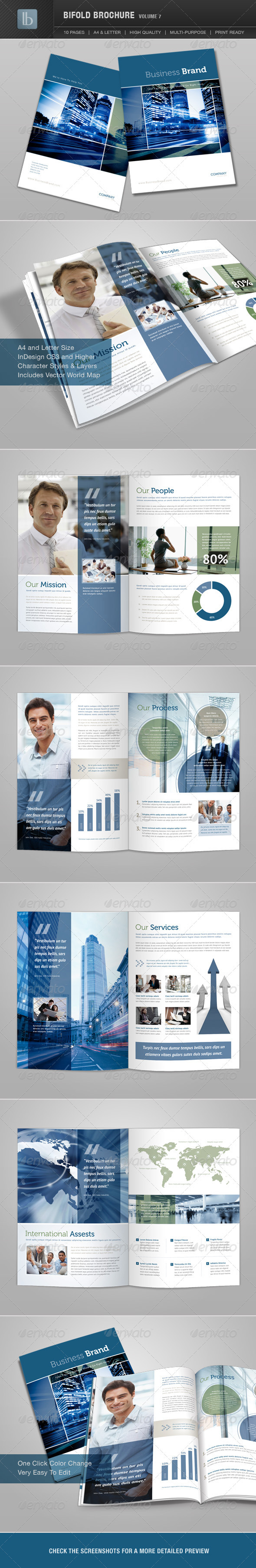 Bifold Brochure | Volume 7 - Corporate Brochures