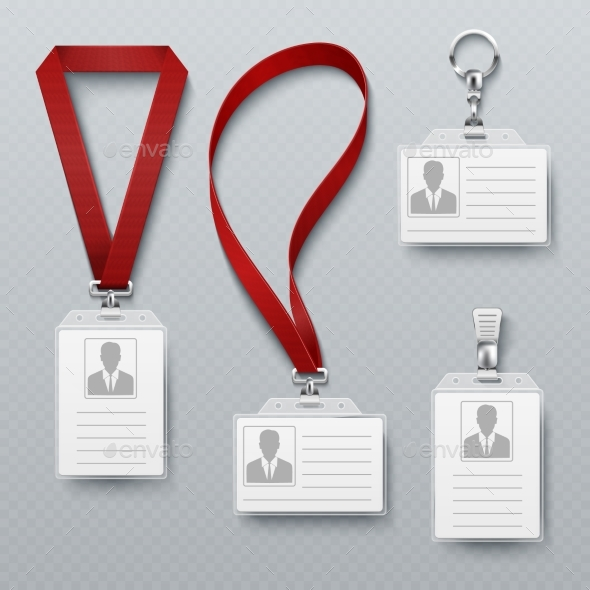 GraphicRiver ID Security Cards and Identification Badge 20548369
