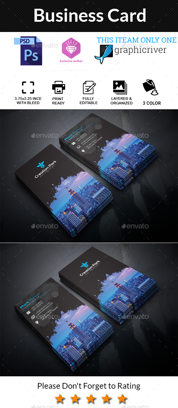 GraphicRiver Business Card 20548608