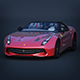 Vray Ready Ferrari F60 Car