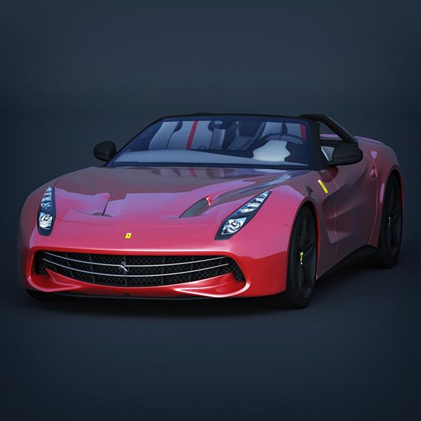 3DOcean Vray Ready Ferrari F60 Car 20548975