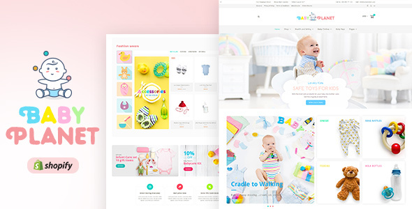Baby Planet | Kids Toys & Accessories Shopify Theme